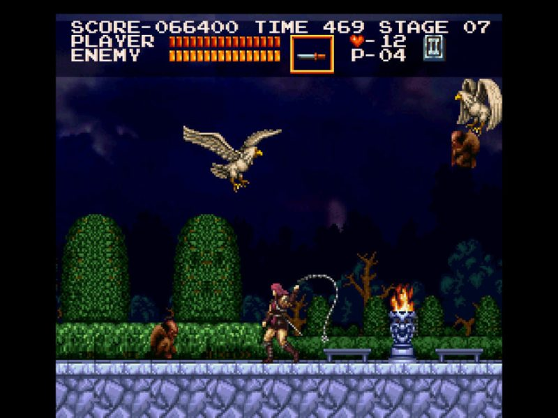 Castlevania Chronicles Arrange Mode gameplay