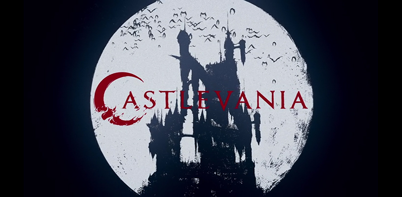 Castlevania Netflix animated series banner