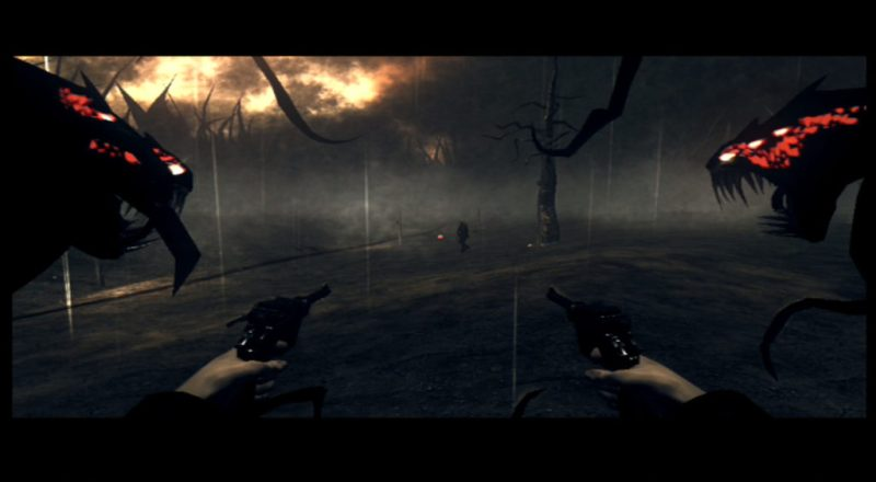 The Darkness gameplay Hell