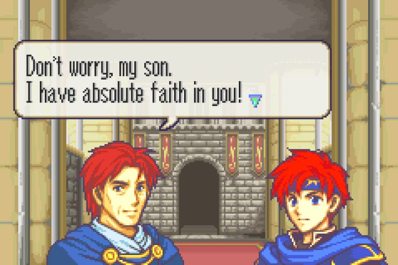 Fire Emblem: The Binding Blade Eliwood and Roy