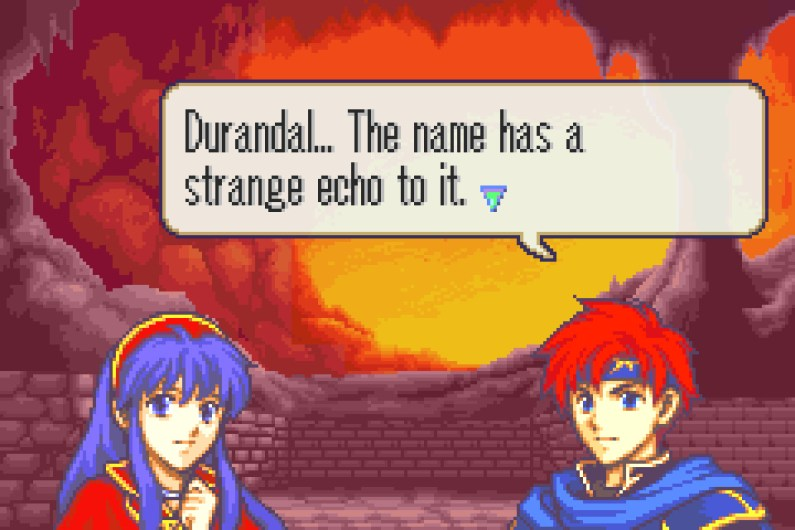 Fire Emblem: The Binding Blade Roy and Lilina