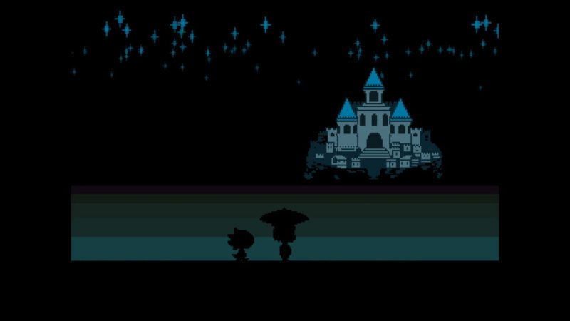 Undertale gameplay Frisk and Monster Kid