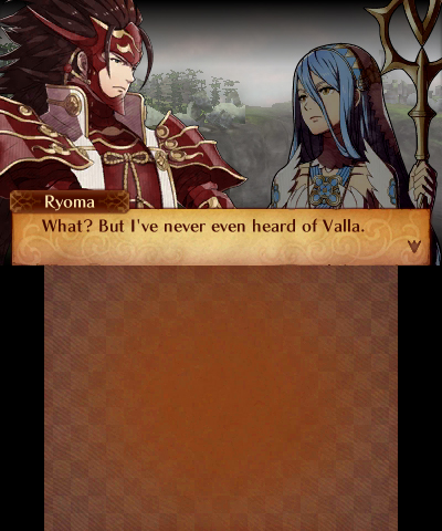 Fire Emblem Fates: Revelation Ryoma and Azura in Valla