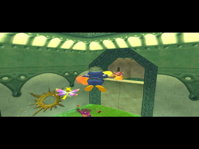 Spyro: Year of the Dragon PS1 gameplay Sgt. Byrd's Base