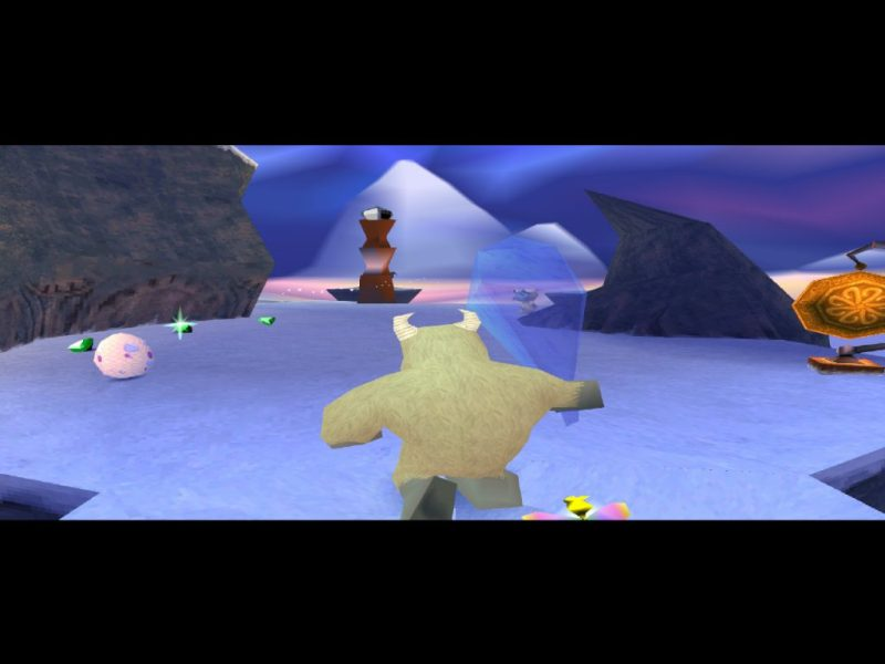 Spyro: Year of the Dragon PS1 gameplay Bentley's Outpost