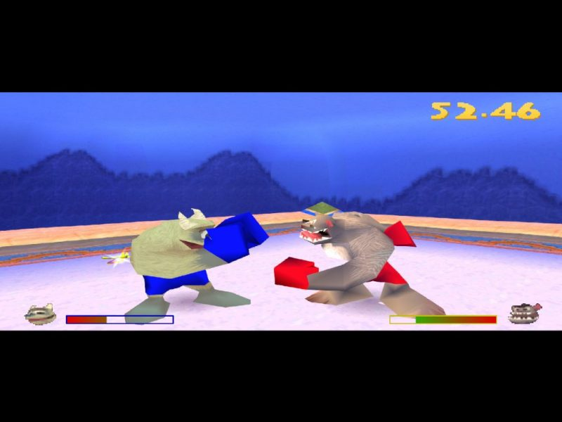 Spyro: Year of the Dragon PS1 gameplay Frozen Altars yeti boxing