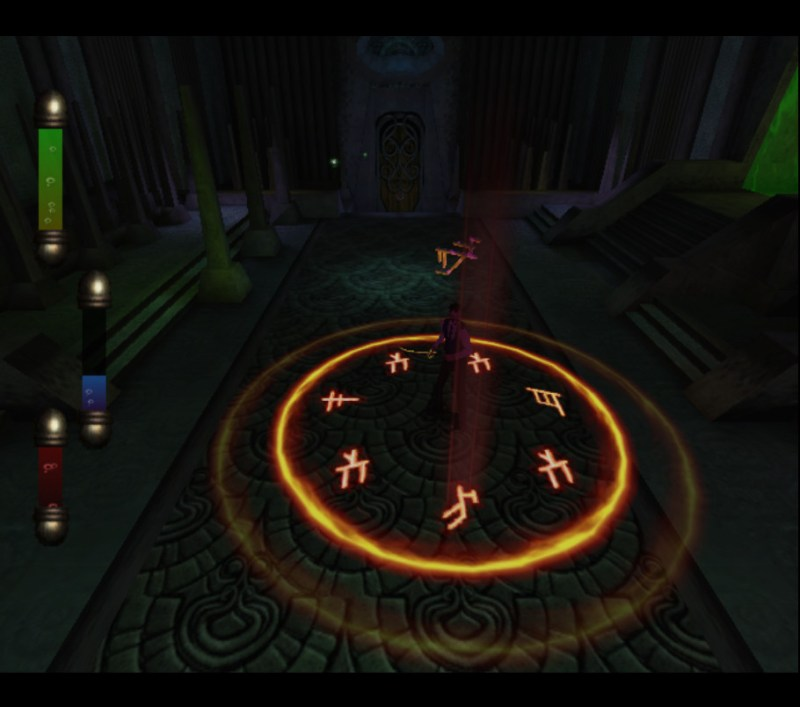 Eternal Darkness: Sanity's Requiem gameplay Dr. Edward Roivas