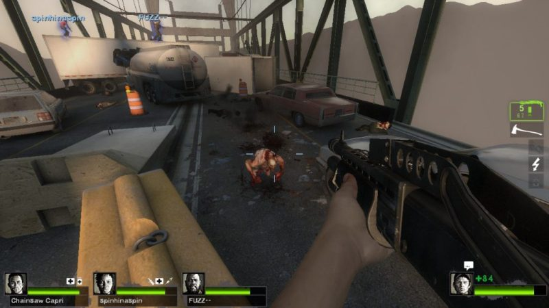 Left 4 Dead 2 gameplay Cold Stream Jockey