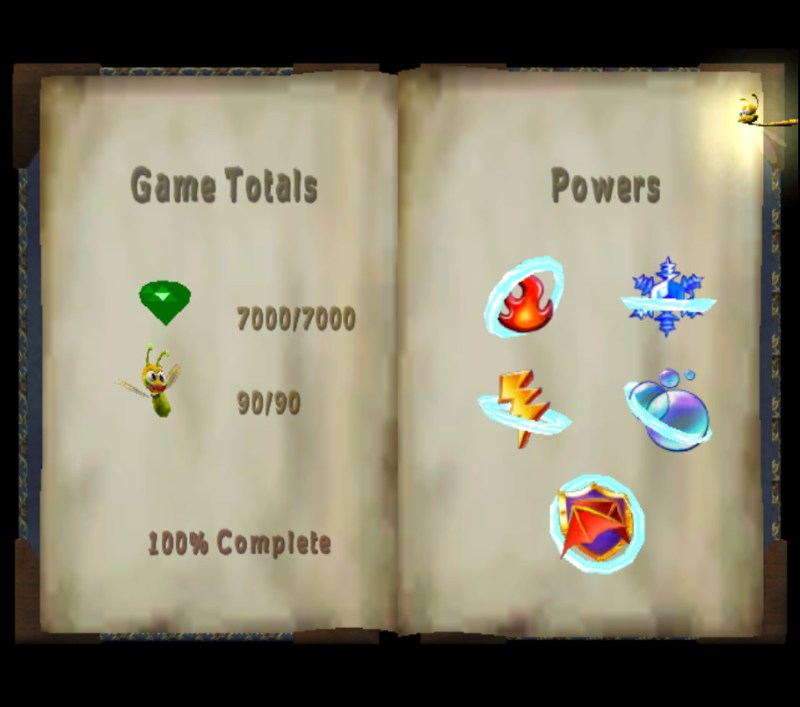 Spyro: Enter the Dragonfly 100% completion atlas