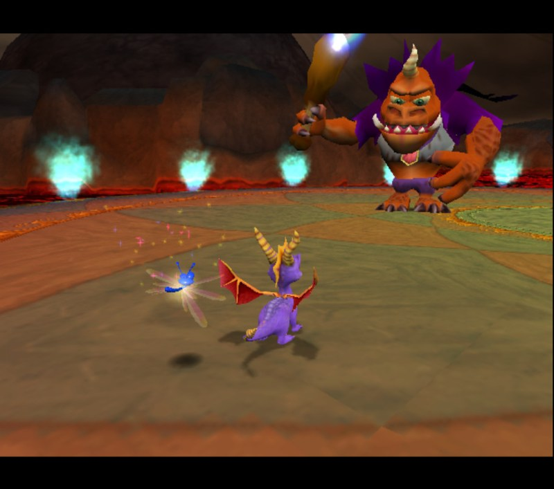 Spyro: Enter the Dragonfly Ripto final form boss fight phase 3