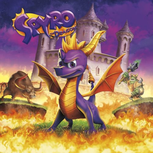 Spyro Reignited Trilogy (Spyro 1) game cover art