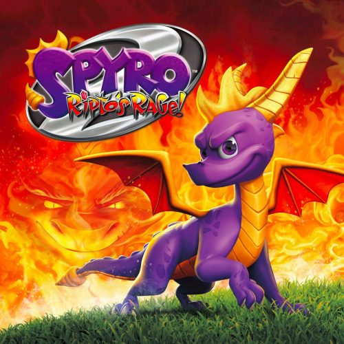 Spyro Reignited Trilogy (Spyro 2: Ripto's Rage!) game cover art