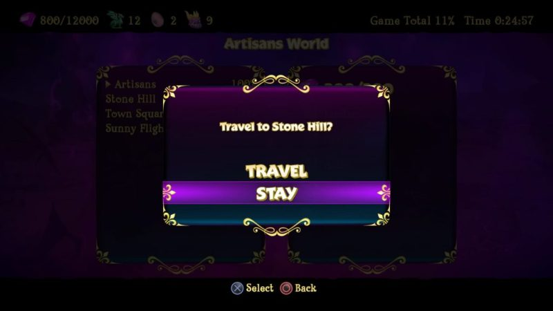 Spyro Reignited Trilogy fast travel level warp