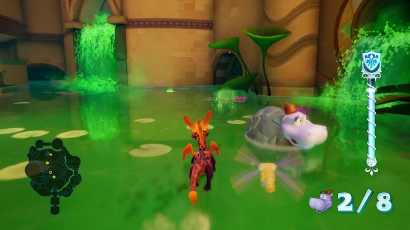 Spyro Reignited Trilogy (Ripto's Rage!) Shady Oasis invincibility