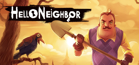 Hello Neighbor game steam banner
