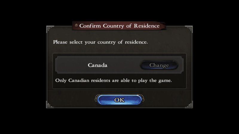 Castlevania: Grimoire of Souls mobile game Canada only