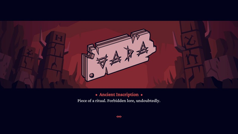 Helltaker (Steam) game Ancient Inscription