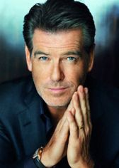 Pierce Brosnan Charming Headshot