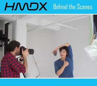 hmdx commercial modeling behind the scenes with jun top model