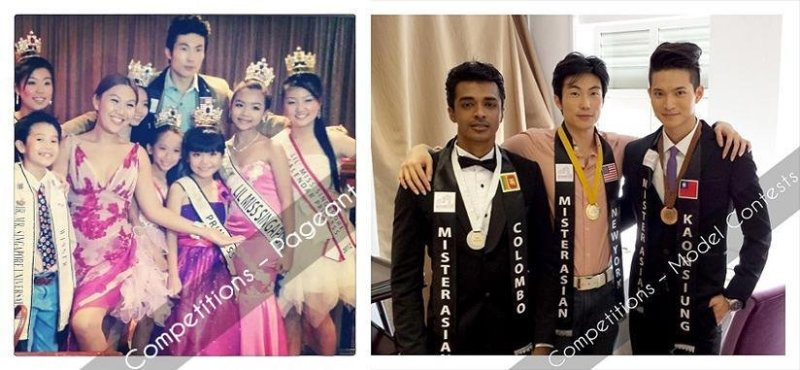 beauty and modeling pageant contest winners