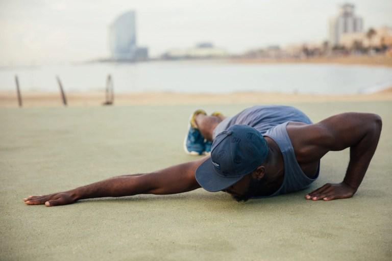 As push-ups são excelente exercício para qualquer treino ao ar livre