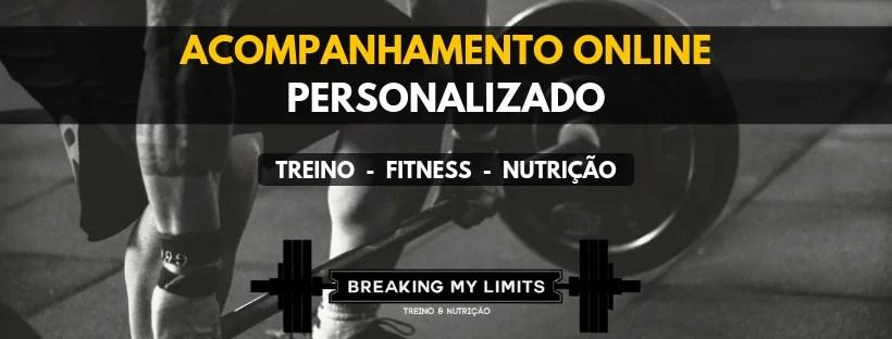 Acompanhamento Personalizado Breaking My Limits - Sabe mais sobre o nosso Online Coaching