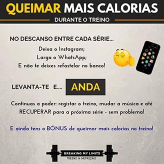 2019-12-29 - Queimar mais calorias no gym (andar entre series)
