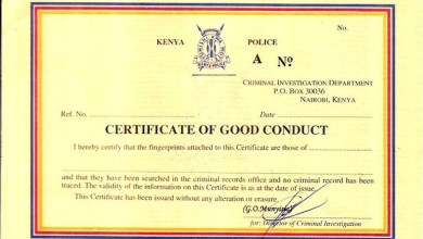 Photo of How To Apply For A Certificate Of Good Conduct In Kenya 2020