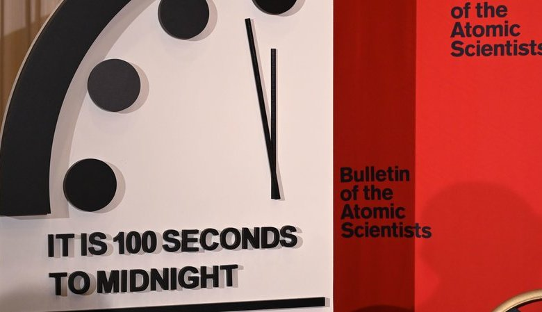 Doomsday Clock Moves Within 100 Seconds Of Midnight