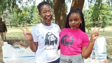 Photo of Nairobi Women Protest Nyashinski's Recent Marriage