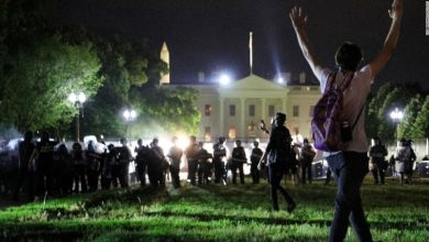 Photo of President Trump Hides in Bunker As Protests Raged Outside White House