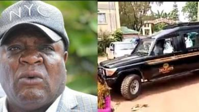Photo of Body of Late Matungu MP Transferred To Nairobi's Lee Funeral Home For Preservation – Video