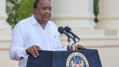 Photo of President Kenyatta's Full Speech That Has Left Kenyans Talking