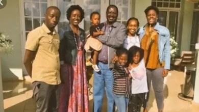 Photo of Never seen photos of Raila Odinga's grandchildren