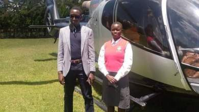Photo of Eldoret Politician Takes Needy Young Girl To School On A Chopper