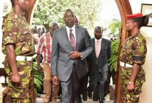 Photo of Ruto's Security Withdrawn By The State