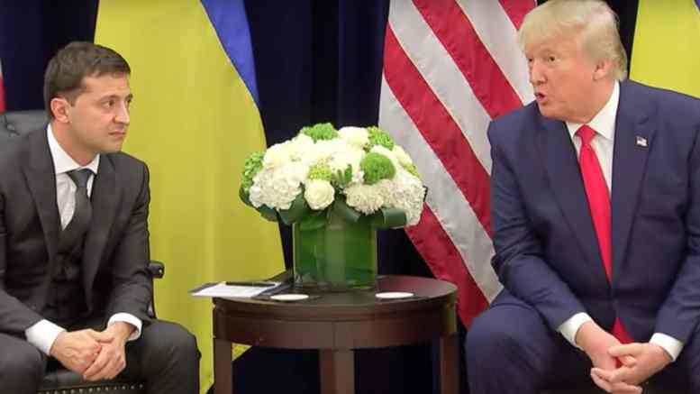 Trump, Zelensky