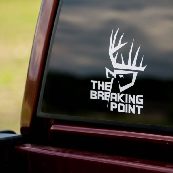 The breaking Point Logo Decal