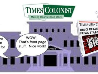 Shame on the Times Colonist
