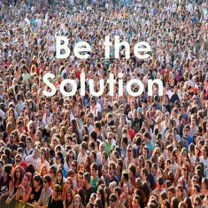 crowd be the solution flat
