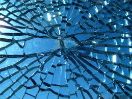 broken addiction treatment - broken glass