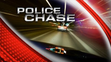Road rage and drugs - police chase