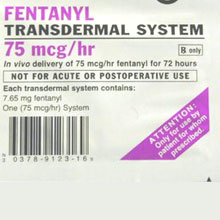Fentanyl patches can be chewed, scraped or injected
