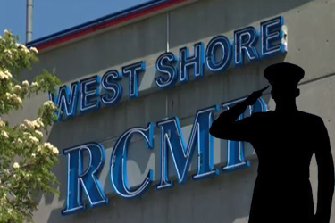 A Salute to West Shore RCMP