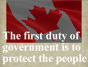 First duty of government sign
