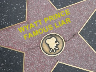 Wyatt Prince, murderer and coward, acting award