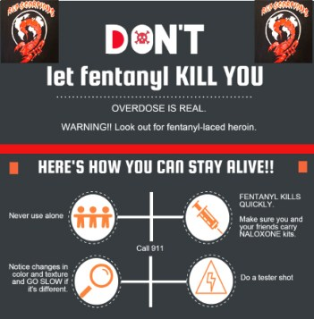 A fentanyl warning vs Red Scorpions