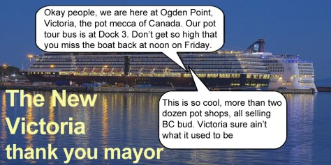 Victoria BC becoming drug destination by Hal Hannon