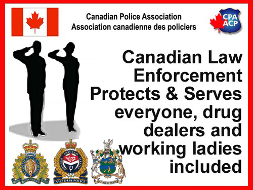 Canadian Police and Their Role in the Hood