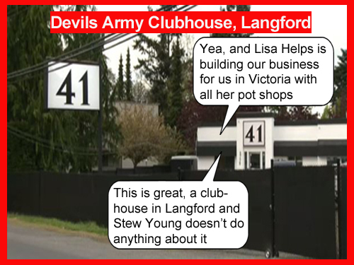 Victoria Pot Shops Controlled by Devils Army